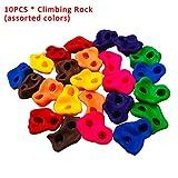 vap26 Lot de 10 pierres d'escalade colorées à visser pour cadre...