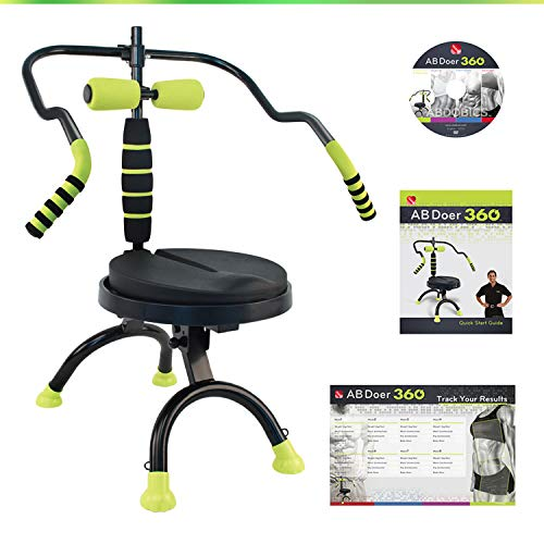 AB Doer 360 Basic Kit, The Abs Workout Equipment for Total Core...
