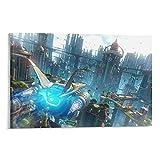 GUOHANG Poster 'Ratchet And Clank Rift Apart', gerahmt/ungerahmt 60 x 90 cm