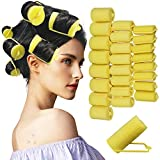 Hair Rollers,24 Pieces Foam Sponge Rollers for Hair,Soft Sleeping Hair Curlers for Hairdressing Styling(Large x 8,Medium x 8,Small x 8)