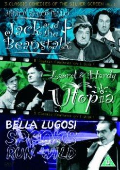 3 Classic Comedies Of The Silver Screen - Vol. 2 - Jack And The Beanstalk / Utopia / Spooks Run Wild [DVD]