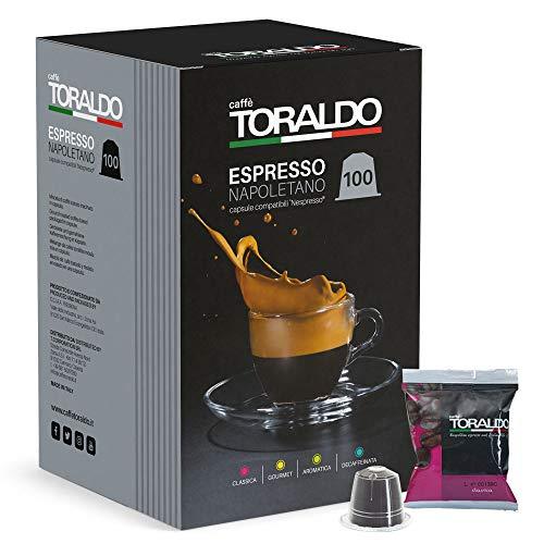 Caffè Toraldo Classica Capsules Compatibili con 'Nespresso' 100 Capsules