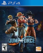 A unique setting, merging the Jump World and the Real World. The Jump Force, an alliance of the most powerful manga heroes from DRAGON BALL, One Piece, Naruto, and much more Realistic graphics bring manga characters to life like never before Xbox One...