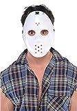Amscan Hockey Mask, White, Costume Accessory, One size