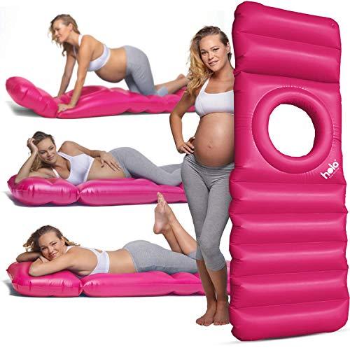 Matelas gonflable Holo pour femme enceinte, matelas de repos doté d'un trou pour le ventre idéal pendant la grossesse