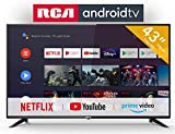 RCA RS43F2 Smart TV (43 Pouces Full-HD Android TV avec Google...