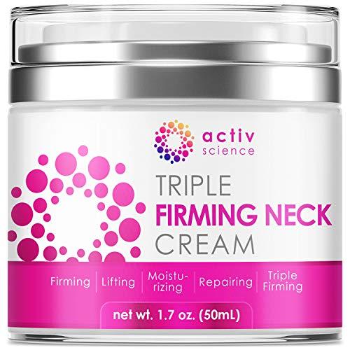 ACTIVSCIENCE Neck Firming Cream, Anti Aging...