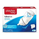Playtex Baby VentAire Bottle, Helps Prevent Colic and Reflux, 6 Ounce Bottles, 3 Count