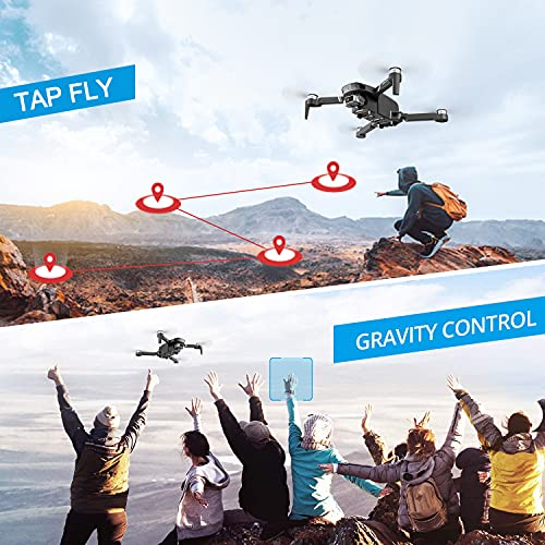 Product Image 6: 4DRC F4 GPS Drone with 4K HD Camera,2-Axis gimbal Anti-shake Camera, RC quadcopter for Adults, 5G FPV Live Video,GPS Return Home,,Brushless Motor,Follow Me, 60 Minutes Flight Time, Carrying Case