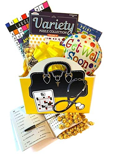 Boredom Buster Gift Basket for Men, Women, Teens with...