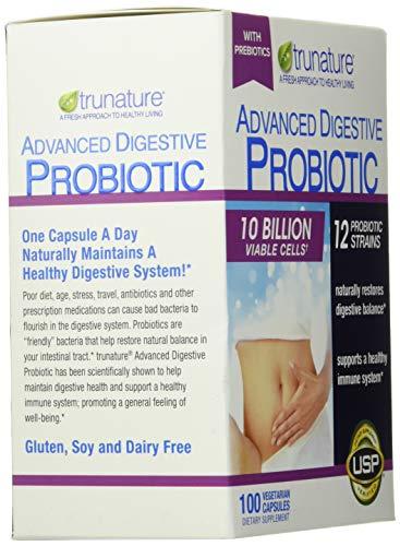 TruNature Advanced Digestive Probiotic (100 Capsules), 100Count 3