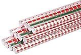 Clairefontaine 211426AMZC - Un carton de 12 rouleaux papier cadeau Excellia...