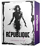 """Republique for PlayStation4' Manifesto (160 pages, 5.4"""" x 6.7"""") Republique: Selected Works of Zinc LeMone Soundtrack (25 tracks) Collector's box Hacking Gameplay Throughout the game, Hope will seek the players support to help her escape and protect h..."""