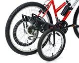 TITAN Bike USA Heavy-Duty Stabilizer Wheels for Adult Bicycles, The Original Training Aid for Full Size Bikes with a 24' to 27' Inch Wheel, Supports Over 250 LBS, Patented Design
