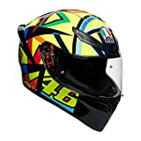 AGV(エージーブイ) バイクヘルメット フルフェイス K1 SOLELUNA 2017 (ソレルナ 2017) M (57-58cm) 028190IY014-M イエロー