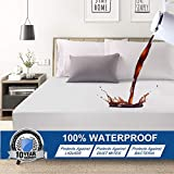 Abakan King Mattress Protector 100% Waterproof Super Soft Breathable Noiseless Premium Fitted...