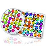 WKDM Fidget-Toys-Packs - Push Pop Bubble Fidget Sensory Toys - Board Game for Kids and Adults to...