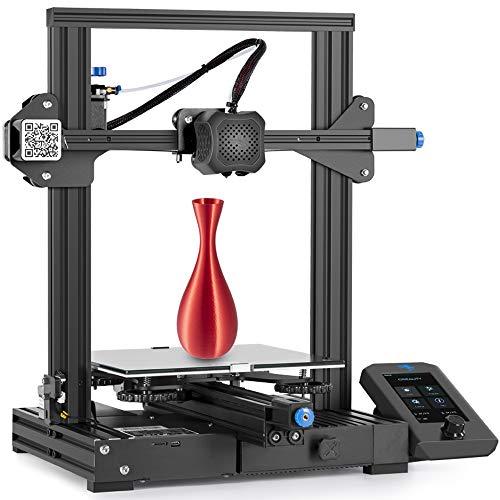 Creality Ender 3 V2 Impresora 3D, con Placa Base Silenciosa,