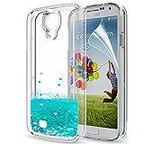 LeYi Coque Galaxy S4 Etui avec Film de Protection écran, Fille Personnalisé...