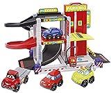 Jouets Ecoiffier -3043 - Garage City Abrick – Jeu de construction pour enfants – Dès 18 mois – Fabriqué en France