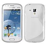 Samsung Galaxy Trend S7560 Étui HCN PHONE S-Line TPU Gel Silicone Coque souple pour Samsung Galaxy Trend S7560 - TRANSPARENT