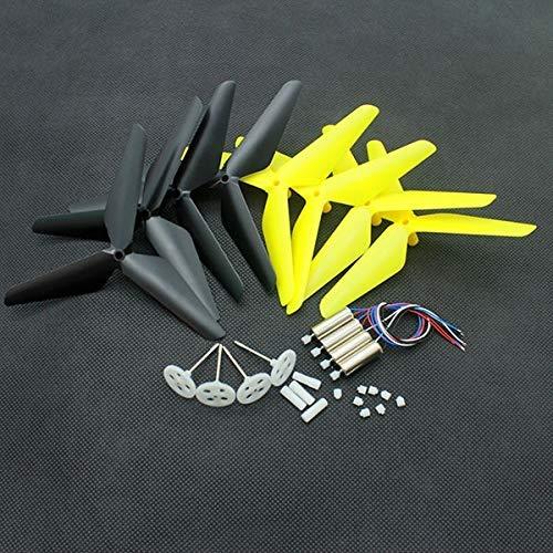 Ellenbogenorthese-LQ Drone per JJRC H31 Syma X5C RC Drone Motori Aggiornamento Motore Set di Ingranaggi per Pale dell'elica Pezzi di Ricambio Pezzi di Ricambio per droni ( Color : Yellow )