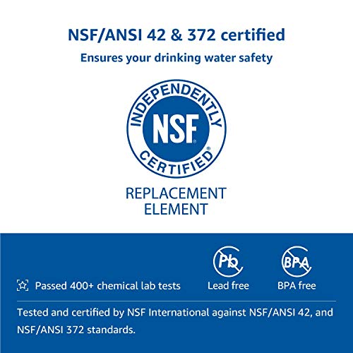 Product Image 4: AQUACREST RV Inline Water Filter, NSF Certified, Reduces Chlorine, Bad Taste, Odor for RV and Marines, Drinking & Washing Filter, Pack of 4