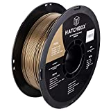 HATCHBOX PETG 3D Printer Filament, Dimensional Accuracy +/- 0.03 mm, 1 kg Spool, 1.75 mm