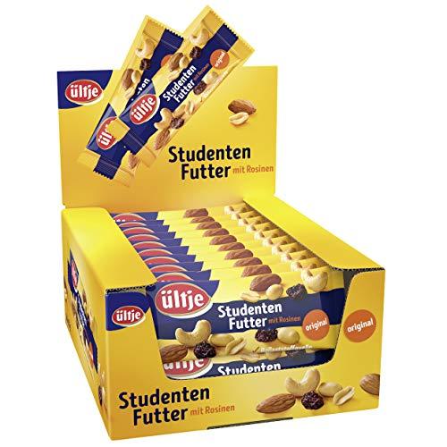 ültje Studentenfutter 20er Pack, original, Nussmix mit Rosinen (20 x 50 g)