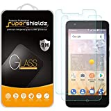 (2 Pack) Supershieldz for ZTE Avid 559 Tempered Glass Screen Protector, Anti Scratch, Bubble Free