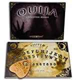 WICCSTAR Ouija Board Game for Spirit Hunt. with Planchette and Detailed Instruction