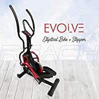 CONNECT - 8956212345 ( REACH CUSTOMER CARE ) CURVE-CRANK TECHNOLOGY: The curved crank of the Reach Evolve elliptical cross trainer applies constant tension to the X and Y axes, delivering a dead-zone-free rotation as you step. With a smooth operation...