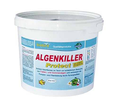 ALGENKILLER Protect® 1,5 kg per 100.000 litri • Cura dell'acqua per laghetti da giardino e stagni.