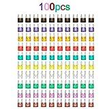 Festnight 100pcs Mini Lame fusibles kit de fusible Auto Voiture Camion Assortiment 2a 3a 5a 7.5a 10a 15a 20a 25a 30a 35a