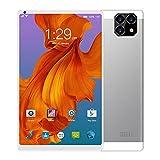 Fringe Trim Tablet Android 10 10,49 Pollici Tablet Pc, Processore Quad-Core con La Fotocamera è 300.000 nella Parte Anteriore E 2 Milioni nella Parte Posteriore(Color:Bianca)