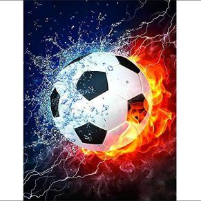 UHvEZ Rompecabezas de Madera 500pcs_Children Patrón de Fuego de fútbol Mini Rompecabezas, Bellas imágenes, Rompecabezas…