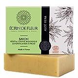 Écrin De Fleur | Jabón de Aloe Vera | Certificado Orgánico | Hecho a Mano en Francia con Zumo de...