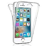 COPHONE Coque Compatible iPhone 5c Intégrale et Transparente. Coque Silicone...