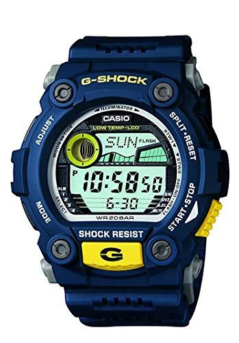 Casio G-Shock Digital Silver Dial Men's Watch