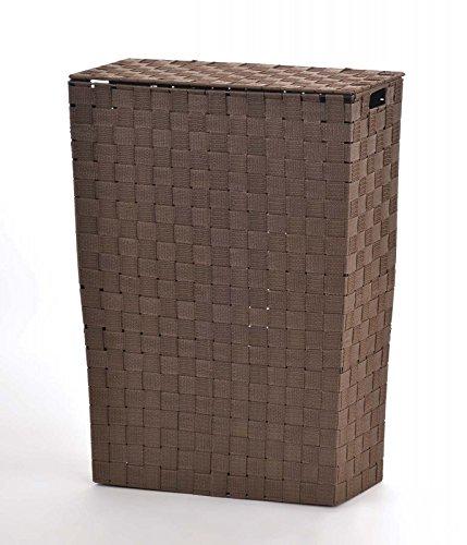 animal-design NISCHENWÄSCHEKORB - BRAUN - Wäschesammler Wäschesortierer Wäschekorb Stoff geflochten Korb, Größe:Größe 1