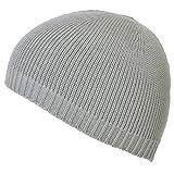(カジュアルボックス)CasualBox dralon ナチュラル ニット イスラムワッチ フリーサイズ 日本製 ニット帽 ドラロン ワッチ イスラム帽子 メンズ charm チャーム (グレー)