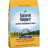Natural Balance L.I.D. Limited Ingredient Diets Dry Dog Food, Potato & Duck Formula, 26 Pounds, Grain Free
