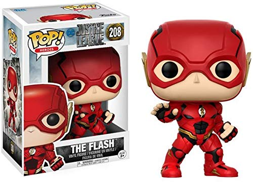 Funko pop heroes 208 - the flash - justice league