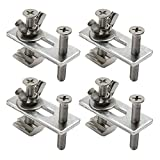 Genmitsu 4PCS T-Track Mini Hold Down Clamp Kit, Compatible with...