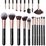 Anjou Make Up Brushes 20 piezas Juego de brochas de maquillaje en polvo Base de maquillaje en polvo ...