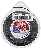 Rotary Item 12161, Trimmer Line .095 X 115' Small Donut Black Vortex Line