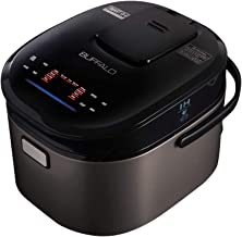 Buffalo Titanium Grey IH SMART COOKER, Rice Cooker and Warmer, 1.8L, 10 cups of rice,..
