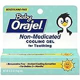 Orajel NonMedicated Cooling Teething Gel, Daytime, 0.33 Ounce