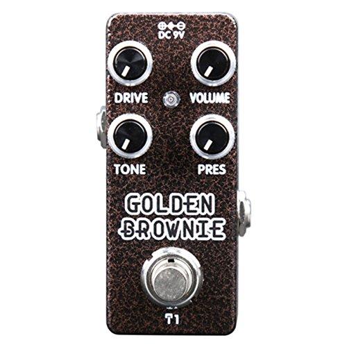 Xvive XT1 Golden Brownie Micro Distortion by Thomas Blug - Black