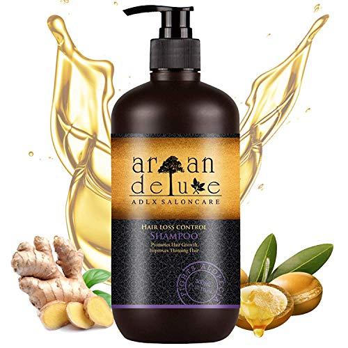 Argan Deluxe Haarwachstums-Shampoo in Friseur-Qualität 300 ml - effektive Hilfe...